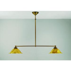 T-lamp recht 2-lichts