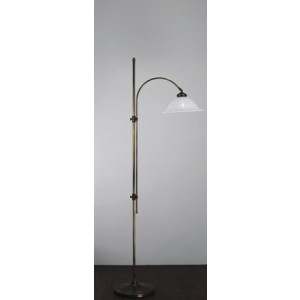 Boog leeslamp