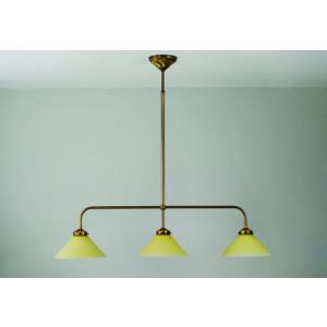 T-lamp gebogen 3 lichts