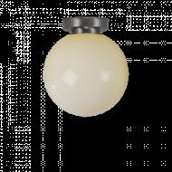 Bol lichtgeel plafonniere