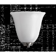 Klok wandlamp