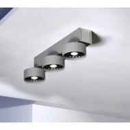 Absolut triple recht plafondlamp