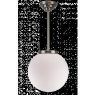 Bol opaalwit hanglamp