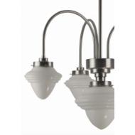 Kroonluchter Klassiek drie armen hanglamp