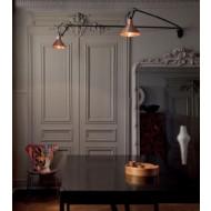 Lampe Gras No213 Les Doubles wandlamp
