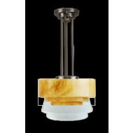 Trapbol marmer hanglamp