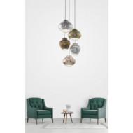 Bonnie e Clyde metallic hanglamp