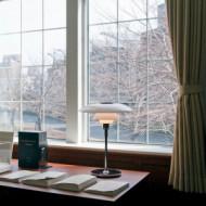 PH 4½-3½ Glas Tafellamp