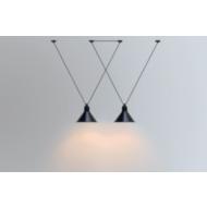 Lampe Gras No323 Les Acrobates hanglamp