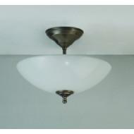 Hanglamp met schaaltje opaal