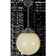 Bol lichtgeel hanglamp